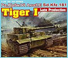 PzKpfw VI Tiger I Lt Prod 3 'n 1 -- Plastic Model Tank Kit -- 1/35 Scale -- #6406