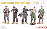 German Warriors 1940-41 -- Plastic Model Military Figure -- 1/35 Scale -- #6574
