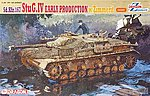 SdKfz 167 StuG IV Early Tank w/Zimmerit -- Plastic Model Tank Kit -- 1/35 Scale -- #6576