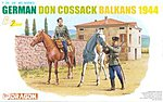 German Don Cossacks Balkans 1944 -- Plastic Model Military Figure -- 1/35 Scale -- #6588