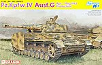 Pz.Kpfw.IV AUSF.G April-May 1943 -- Plastic Model Tank Kit -- 1/35 Scale -- #6594