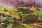 Pz.Kpfw.III Ausf.M with Schurzen Kursk 1943 -- Plastic Model Military Vehicle -- 1/35 Scale -- #6604