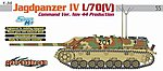 Jagdpanzer IV L/70(V) Command Ver. Tank Nov. 1944 -- Plastic Model Tank Kit -- 1/35 Scale -- #6623