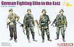 German Fighting Elite in the East -- Plastic Model Military Figure -- 1/35 Scale -- #6692