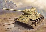 Panzerkampfwagen T-34/85 1944 -- Plastic Model Military Vehicle Kit -- 1/35 Scale -- #6759