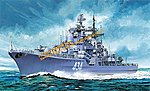Russian Sovremenny Class Destroyer -- Plastic Model Military Ship Kit -- 1/700 Scale -- #7048