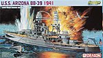 USS Arizona BB-39 Premium Ed -- Plastic Model Battleship Kit -- 1/700 Scale -- #7053
