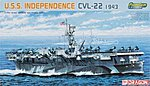 USS Independence Class AC Prm Ed -- Plastic Model Military Ship Kit -- 1/700 Scale -- #7054
