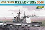 USS Monterey CG-61 -- Plastic Model Military Ship Kit -- 1/700 Scale -- #7067