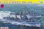 USS Laffey DD-459 1942 Smart Kit -- Plastic Model Destroyer Kit -- 1/700 Scale -- #7086