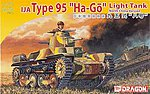 IJA Type 95 Ha-Go Light Tank -- Plastic Model Military Vehicle Kit -- 1/72 Scale -- #7402