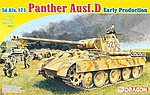 Sd.Kfz.171 Panther D Early Production -- Plastic Model Tank Kit -- 1/72 Scale -- #7494