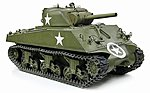 M4A3 SHERMAN 105mm HOWZR -- Plastic Model Tank Kit -- 1/6 Scale -- #75046