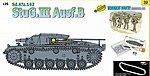 Sdkfz 142 StuG III Ausf B Tank -- Plastic Model Tank Kit -- 1/35 Scale -- #9