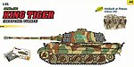 SdKfz 182 King Tiger Henschel Turret Tank -- Plastic Model Tank Kit -- 1/35 Scale -- #9144