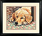 Dog Tired -- Paint By Number Kit -- #73-91431