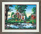 Summer Cottage -- Paint By Number Kit -- #73-91433