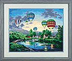 Balloon Glow -- Paint By Number Kit -- #91243