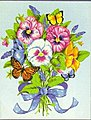 Pansy Bouquet -- Paint By Number Kit -- #91394