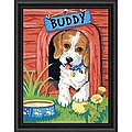 Cute Puppy -- Paint By Number Kit -- #91396
