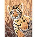 Tiger Cub -- Paint By Number Kit -- #91420