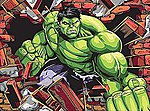 Hulk (Super Hero) -- Pencil By Number Kit -- #91499