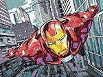 Iron Man (Super Hero) -- Pencil By Number Kit -- #91501