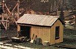 Handcar shed w/car HO - HO-Scale