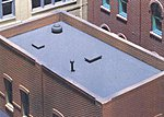 Roof and Trim Kit -- HO Scale Model Railroad Building Accessory -- #30190