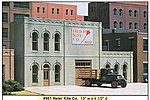 Heir Kite Co. Kit (13 x 4-1/2'') -- O Scale Model Railroad Building -- #95100