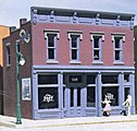 Robert's Dry Goods Kit -- HO Scale Model Railroad Building -- #woo10200