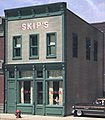 Skip's Chicken & Ribs Kit -- HO Scale Model Railroad Building -- #woo10500