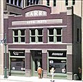 Carr's Parts Kit -- HO Scale Model Railroad Building -- #woo11600