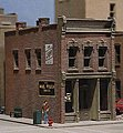 Cricket's Saloon Kit -- N Scale Model Railroad Building -- #woo51100
