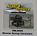 Blower Scoop Hardware Kit -- Plastic Model Vehicle Accessory Kit -- 1/24 Scale -- #2025