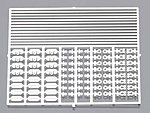Battery Hardware Kit -- Plastic Model Vehicle Accessory Kit -- 1/24-1/25 Scale -- #2340