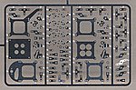 Carburetor Linkage & Hardware -- Plastic Model Vehicle Accessory Kit -- 1/24-1/25 Scale -- #2420