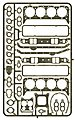 Gaskets Small Block Chevy -- Plastic Model Vehicle Accessory Kit -- 1/24-1/25 Scale -- #2430