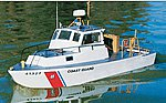USCG 41' Utility Boat 31 Kit -- RC Wooden Scale Powered Boat Kit -- #1214