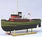 Carol Moran Harbor Tug 17-3/4 -- RC Wooden Scale Powered Boat Kit -- #1250