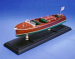 Triple Cockpit 27' Barrel Back Kit -- Wooden Boat Model Kit -- #1703