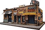 Addams Ave. Part One Kit -- HO Scale Model Railroad Building -- #1000