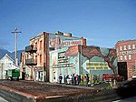Addams Ave. Part Five Kit -- HO Scale Model Railroad Building -- #1027