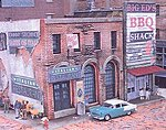 Blair Avenue Part Two Kit -- N Scale Model Railroad Building -- #2007