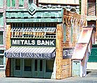 Metals Bank Kit -- O Scale Model Railroad Building -- #50
