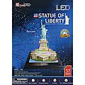 3D LED Statue of Liberty 37pc Puzzle -- 3D Jigsaw Puzzle -- #505h