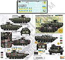 Ukrainian AFVs Ukraine-Russia Crisis Pt.3 -- Plastic Model Military Decal -- 1/35 Scale -- #356195