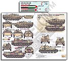 Syrian AFVs Syrian Civil War 2011 Pt.1 -- Plastic Model Military Decal -- 1/35 Scale -- #356214