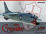 Crusader Aircraft (Ltd Edition Plastic Kit) -- Plastic Model Airplane -- 1/48 Scale -- #11110