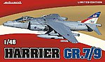 Harrier GR7/9 Aircraft (Limited Edition Plastic Kit) -- Plastic Model Airplane Kit -- 1/48 -- #1166